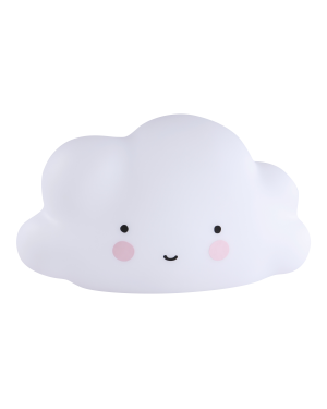 A Little Lovely Company - Mini-lampe nuage blanc