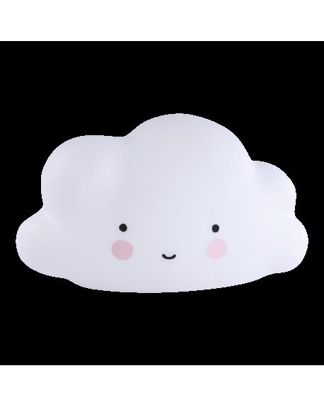 A Little Lovely Company - Mini Cloud Light - White