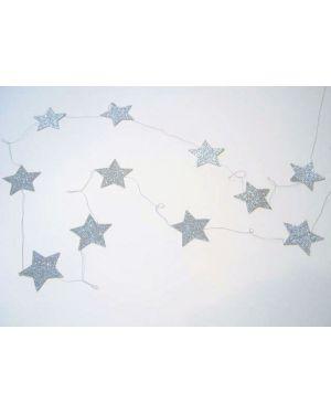 Mouche - Guirlande étoile argent