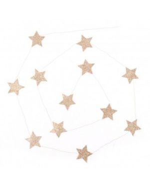 Mouche - Guirlande étoile or