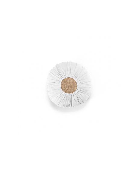 Mouche - White/Gold cushion (medium) - Kids Room