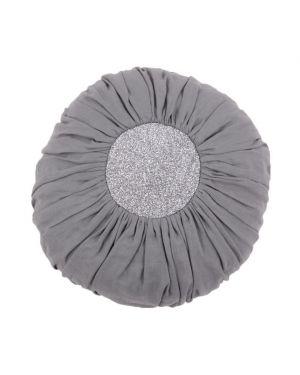 Mouche - Coussin boule gris foncé (moyen)
