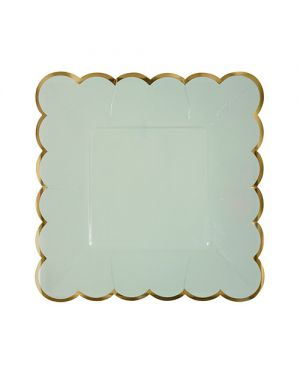 Meri Meri - Pastel small plates - Set of 8