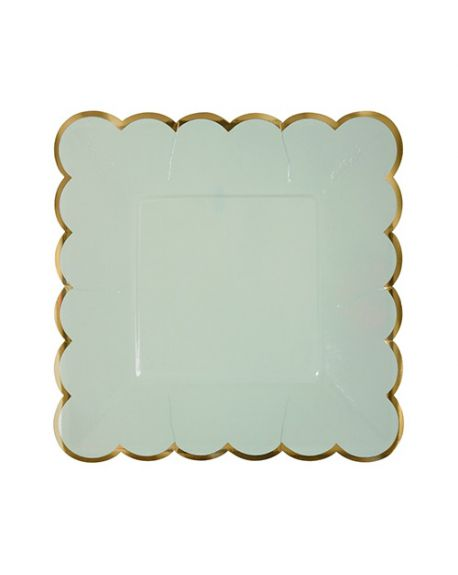 Meri Meri - Pastel small plates - Set of 8
