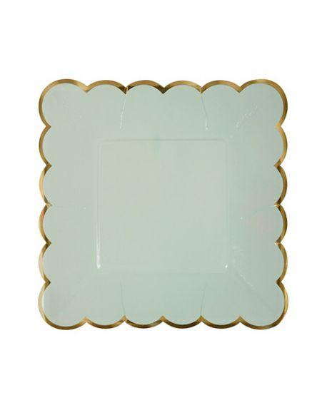 Meri Meri - Petites assiettes pastels - Set de 8