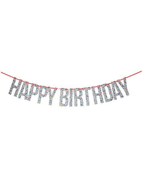 Meri Meri - betsy happy birthday garland - 390 x 160 x 12mm
