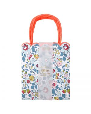 Meri Meri - betsy party bags - x 8 - 125 x 230 x 40mm