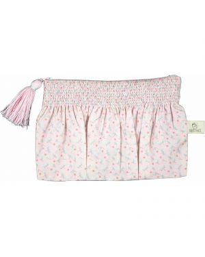 Les Petits Vintage - Pochette popeline Starfly intérieur rose poudré