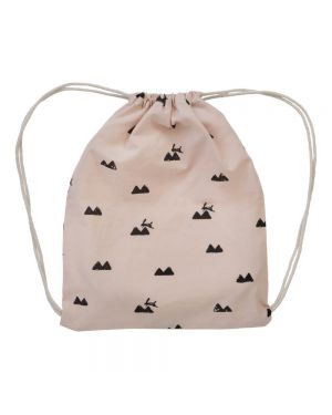 Ferm Living - Sac de gym Lapin Rose