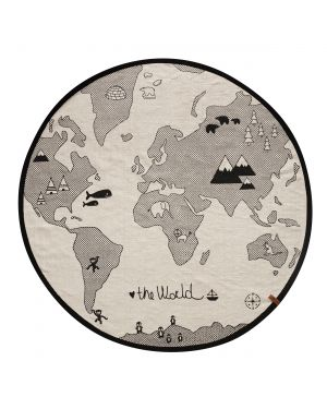OYOY - Tapis The World Rug / Mappemonde