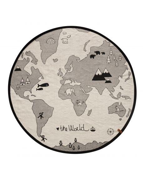 OYOY - Tapis The World Rug / Mappemonde