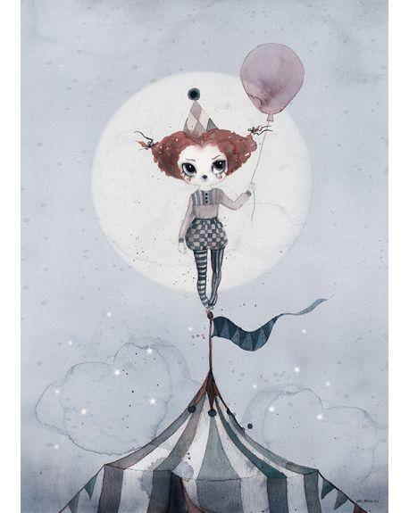 MRS MIGHETTO - Miss Gertrud Art Print