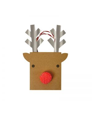 Meri Meri - Reindeer Gift Bag - Small