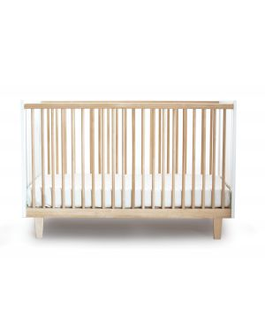 OEUF - RHEA, Design convertible cot White / Birch