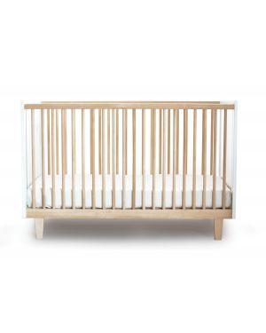 OEUF-RHEA-Lit bébé évolutif Bouleau/blanc