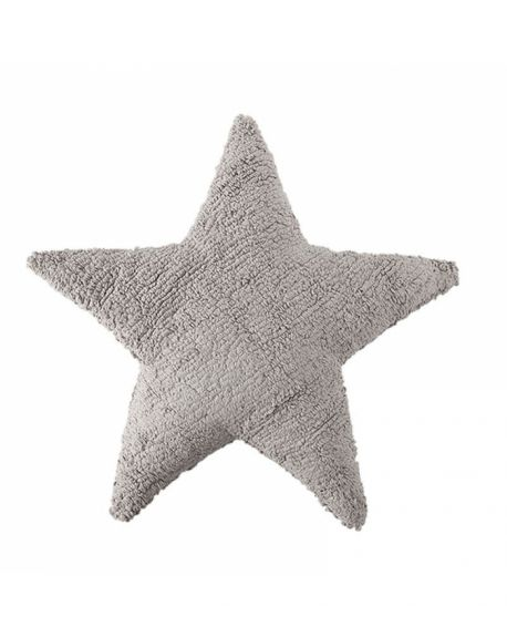 LORENA CANALS - Cushion star light grey - Washable