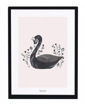 LILIPINSO - Tableau cygne noir