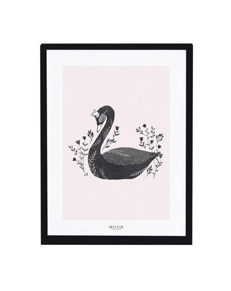 LILIPINSO - Frame black swan