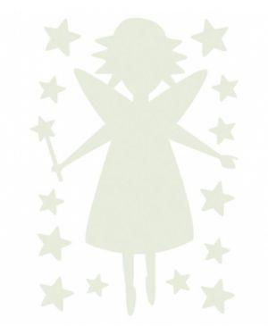 LILIPINSO - Sticker phosphorescent fée