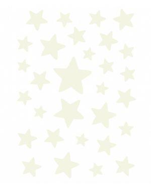 LILIPINSO - Stickers phosphorescents étoiles
