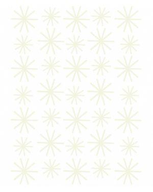LILIPINSO - Sticker phosphorescent flocons