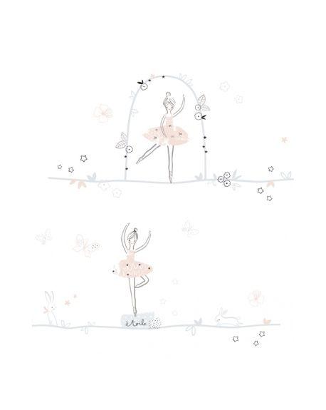 Lilipinso - Stickers deco ballerina