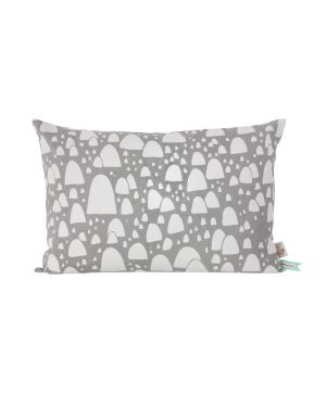 FERM LIVING - Coussin Mountain top gris