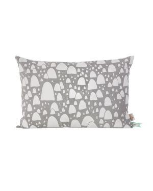 FERM LIVING - Mountain Tops Cushion Grey