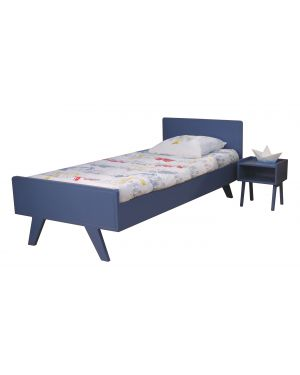 MATHY BY BOLS - Children bed 90x200 cm - Madavin Atlantic Blue