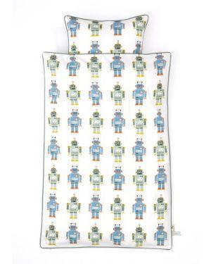 FERM LIVING - Robot - Duvet and pillow cover 140 x 200 cm