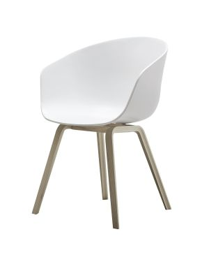 HAY - AAC22 ABOUT A CHAIR - Chaise design - Blanc