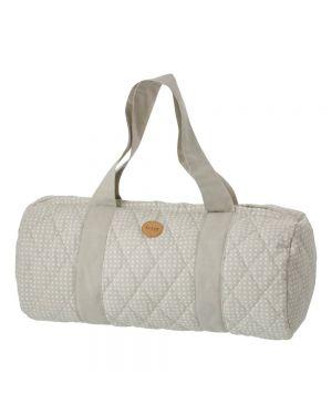 Ferm Living - Grey Cross Duffel Bag