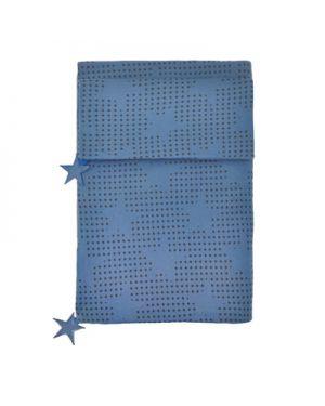 JACK N'A QU'UN OEIL - PEGASE - Duvet cover & cushion 140 x 200 cm + Pillow case 50 x 70 cm Velvet blue