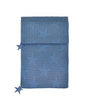 JACK N'A QU'UN OEIL-PEGASE-Housse de couette 140 x 200 cm + taie d'oreiller 50 x 70 cm - Velvet blue