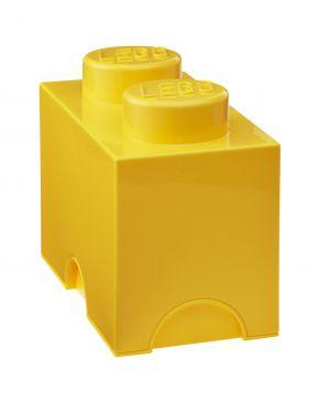 LEGO-BOITE DE RANGEMENT-2 plots / Jaune