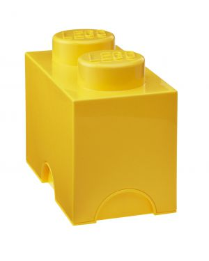 STORAGE BOX - LEGO - 2 studs / Yellow