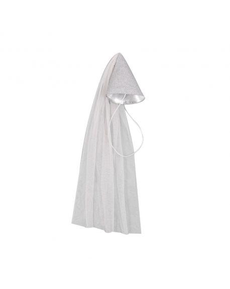 Mouche - Fairy hat Silver grey