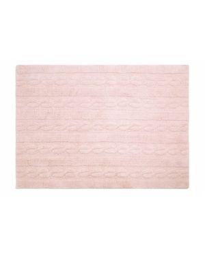 LORENA CANALS - TRENZAS Soft Pink - 120 X 160 cm