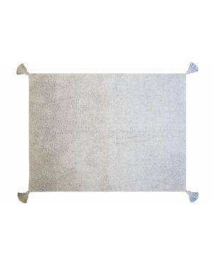 LORENA CANALS - TAPIS Degrade Grey-Baby Blue - 120 x 160 cm