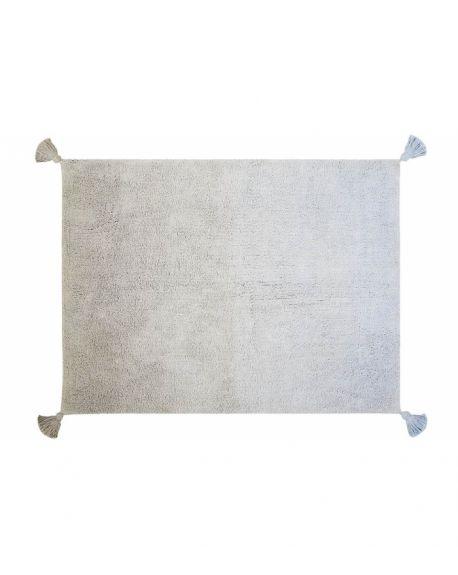 LORENA CANALS - TAPIS Degrade Grey-Baby Blue - 120 x 160 cm