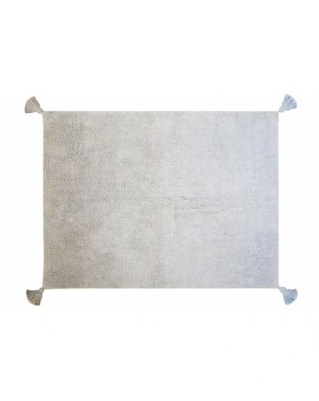 LORENA CANALS - Degrade Grey-Baby Blue - 120 x 160 cm
