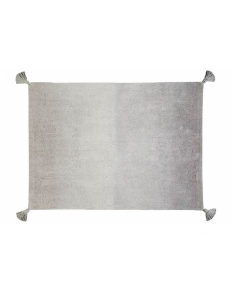 LORENA CANALS - TAPIS Degrade Dark Grey-Grey - 120 x 160 cm