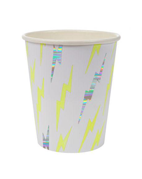 Meri Meri - SUPER HEROS CUPS - x 8 (260 ml)