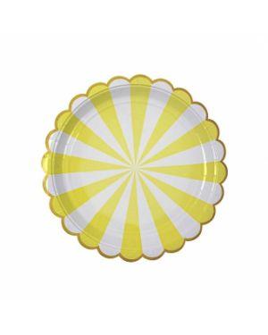 Meri Meri - Petites assiettes jaunes