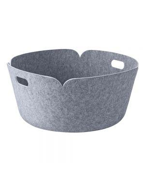 MUUTO-RESTORE - DESIGN STORAGE BASKET - Grey - 52 cm