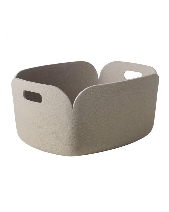 muuto restore panier de rangement en feutre design corbeille feutre. Black Bedroom Furniture Sets. Home Design Ideas