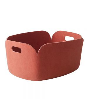 MUUTO-RESTORE - DESIGN STORAGE BASKET - Pink