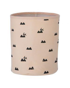 FERM LIVING - Storage Basket Rose Rabbit - Medium