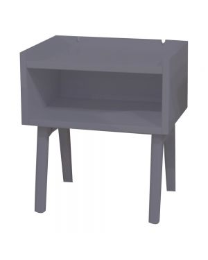 MATHY BY BOLS - Madavin Bedside Table Charcoal grey