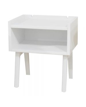 MATHY BY BOLS - Table de chevet Madavin Blanc